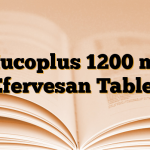 Mucoplus 1200 mg Efervesan Tablet