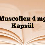 Muscoflex 4 mg Kapsül