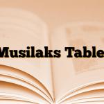 Musilaks Tablet