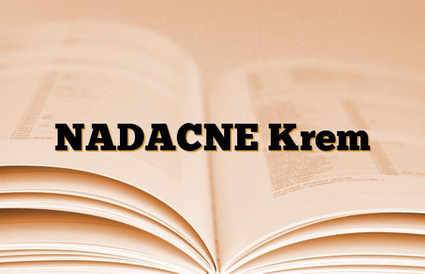 NADACNE Krem