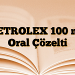 NETROLEX 100 mg Oral Çözelti