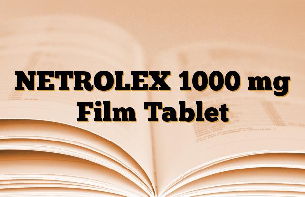 NETROLEX 1000 mg Film Tablet