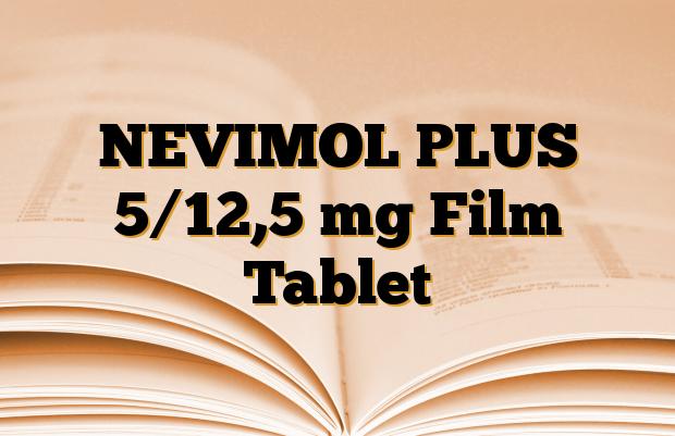NEVIMOL PLUS 5/12,5 mg Film Tablet
