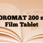 NOROMAT 200 mg Film Tablet