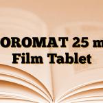 NOROMAT 25 mg Film Tablet