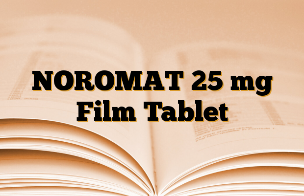 NOROMAT 25 mg Film Tablet