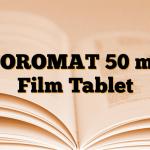 NOROMAT 50 mg Film Tablet