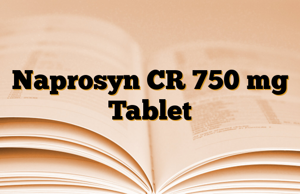 Naprosyn CR 750 mg Tablet