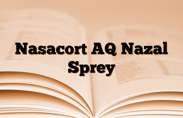 Nasacort AQ Nazal Sprey