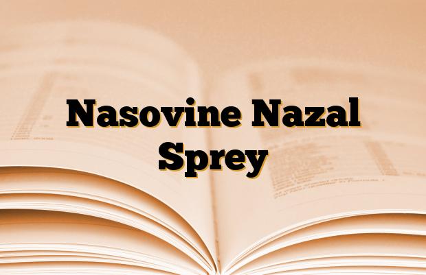 Nasovine Nazal Sprey