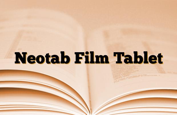 Neotab Film Tablet