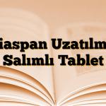 Niaspan Uzatılmış Salımlı Tablet