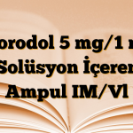 Norodol 5 mg/1 ml Solüsyon İçeren Ampul IM/Vl