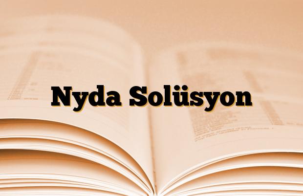 Nyda Solüsyon