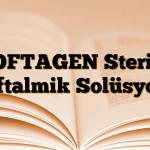 OFTAGEN Steril Oftalmik Solüsyon