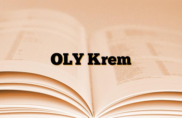 OLY Krem