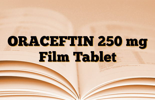 ORACEFTIN 250 mg Film Tablet