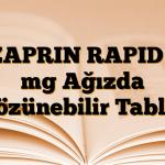 OZAPRIN RAPID 20 mg Ağızda Çözünebilir Tablet