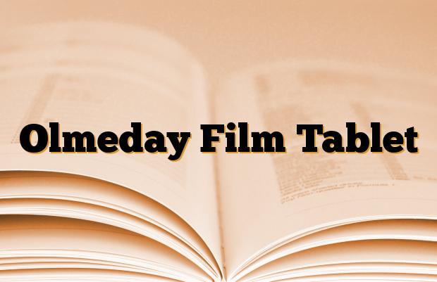 Olmeday Film Tablet