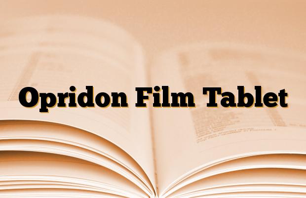 Opridon Film Tablet