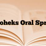 Oroheks Oral Sprey