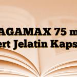 PAGAMAX 75 mg Sert Jelatin Kapsül