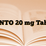 PANTO 20 mg Tablet