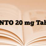 PANTO 20 mg Tablet