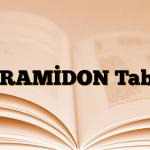 PARAMİDON Tablet