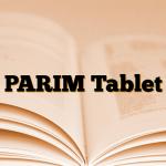 PARIM Tablet