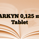 PARKYN 0,125 mg Tablet