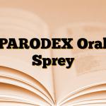 PARODEX Oral Sprey
