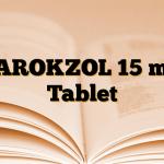 PAROKZOL 15 mg Tablet