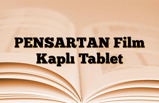PENSARTAN Film Kaplı Tablet