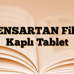 PENSARTAN Film Kaplı Tablet