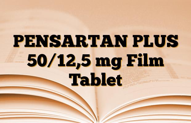 PENSARTAN PLUS 50/12,5 mg Film Tablet