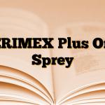 PERIMEX Plus Oral Sprey