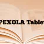 PEXOLA Tablet
