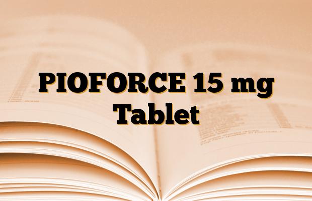 PIOFORCE 15 mg Tablet