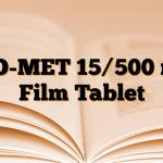 PIO-MET 15/500 mg Film Tablet