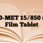 PIO-MET 15/850 mg Film Tablet