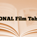 PIONAL Film Tablet