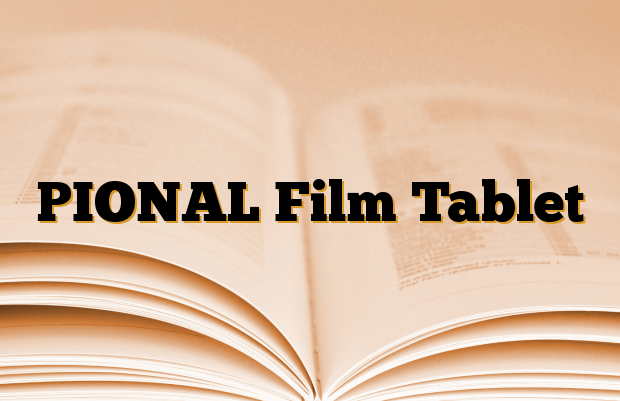 PIONAL Film Tablet