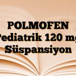 POLMOFEN Pediatrik 120 mg Süspansiyon