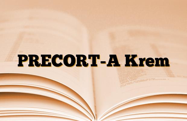 PRECORT-A Krem