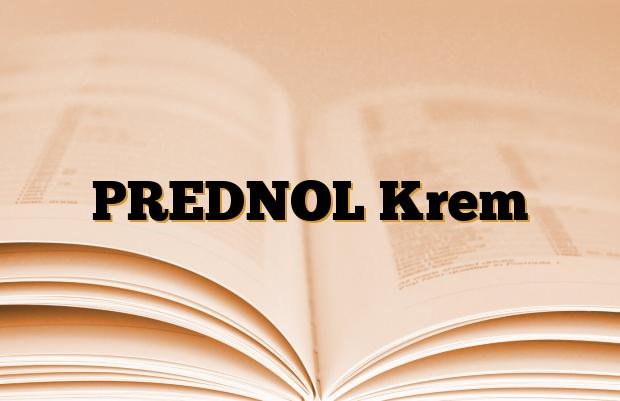 PREDNOL Krem