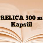 PRELICA 300 mg Kapsül