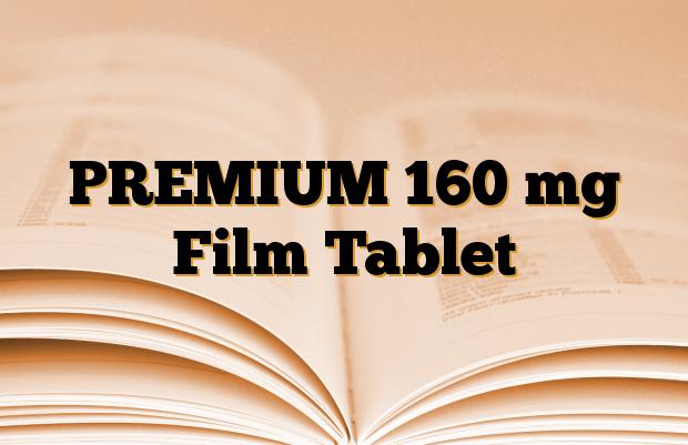 PREMIUM 160 mg Film Tablet