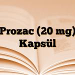 Prozac (20 mg) Kapsül