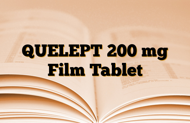 QUELEPT 200 mg Film Tablet
